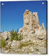 Natural Rock Formation At Mono Lake, Eastern Sierra, California, Acrylic Print