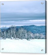 North Carolina Sugar Mountain Skiing Resort Destination Acrylic Print