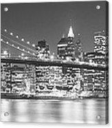 Nyc, New York City, New York State, Usa Acrylic Print