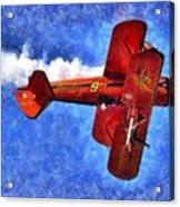 Painting Of Wingwalker Danielle Acrylic Print