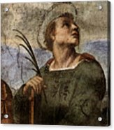 Raphael La Disputa  Acrylic Print