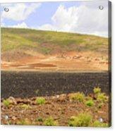 Rural Landscape In Ethiopia Acrylic Print