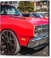 Sf Low Riders Acrylic Print