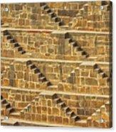 Steps At Chand Baori Acrylic Print