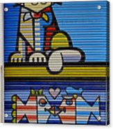 Street Art In Palma Majorca Spain Acrylic Print