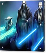 The Star Wars Poster Acrylic Print