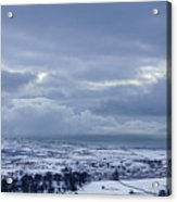 Winter In Wensleydale Acrylic Print