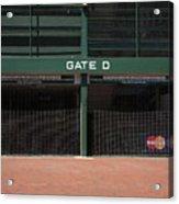 Wrigley Field - Chicago Cubs Acrylic Print