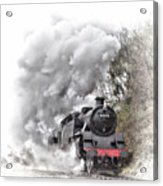 80072 Steaming In The Rain Acrylic Print
