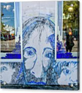 8261- Little Havana Mural Acrylic Print