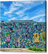 8276- Little Havana Mural Acrylic Print