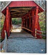 8350- Campbell's Covered Bridge Acrylic Print