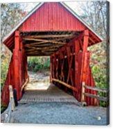 8351- Campbell's Covered Bridge Acrylic Print