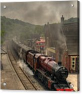 8624 At Froghall Station Acrylic Print