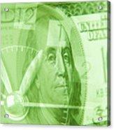 Time Is Money 17 Acrylic Print