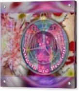 #8913_444 Angels Are Present 2 Acrylic Print