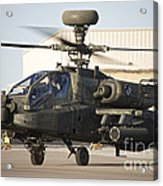 Ah-64d Apache Longbow Taxiing Acrylic Print
