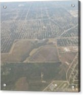An Aerial View Of Fort Myers Acrylic Print