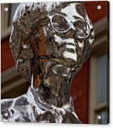 Andy Warhol Statue Union Square Nyc Acrylic Print