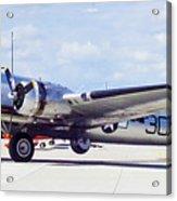 B-17 Bomber Parking Acrylic Print