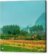 Beautiful Countryside Scenery In Autumn Acrylic Print