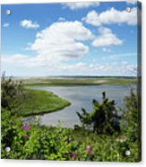 Cape Cod Salt Pond Acrylic Print