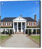 The Main House At Boone Hall Acrylic Print