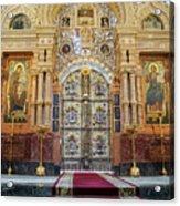 Church Of The Savior On Spilled Blood  Acrylic Print
