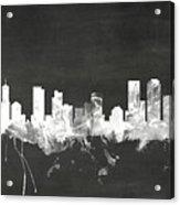Denver Colorado Skyline Acrylic Print
