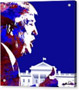 Donald Trump 2016 Presidential Candidate Acrylic Print