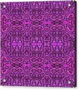 Purple Shade Acrylic Print