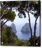 Faraglioni - Capri Acrylic Print