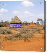 Farmland Landscape In Ethiopia Acrylic Print