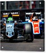 Formula 1 Monaco Grand Prix 2016 Acrylic Print
