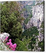 Grand Canyon Du Verdon Acrylic Print
