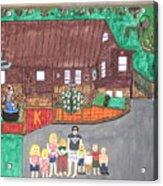 9 Grand Kids Acrylic Print