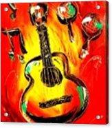 Guitar Acrylic Print