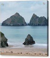 Holywell Bay - Cornwall Acrylic Print