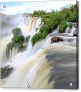 Iguazu Waterfalls Acrylic Print
