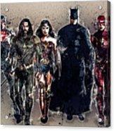 Justice League Acrylic Print