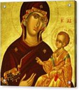 Mary Saint Religious Art Acrylic Print