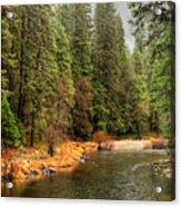 Merced River Yosemite Valley Acrylic Print