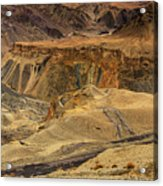 Moonland Ladakh Jammu And Kashmir India Acrylic Print