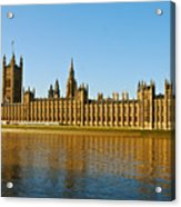 Palace Of Westminster, Houses Of Parliament, And Big Ben Acrylic Print