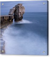 Portland Bill Seascapes Acrylic Print