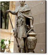 Roman citizen in Louvre Acrylic Print