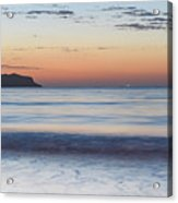 Soft Sunrise Seascape Acrylic Print