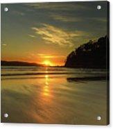Sunrise Seascape From The Beach Acrylic Print