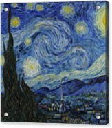 The Starry Night Acrylic Print