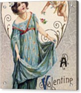Valentines Day Card Acrylic Print